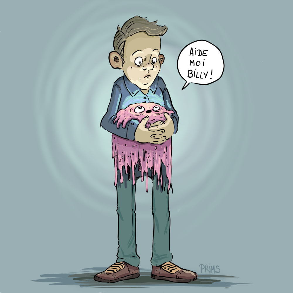 Dessin : Aide moi Billy