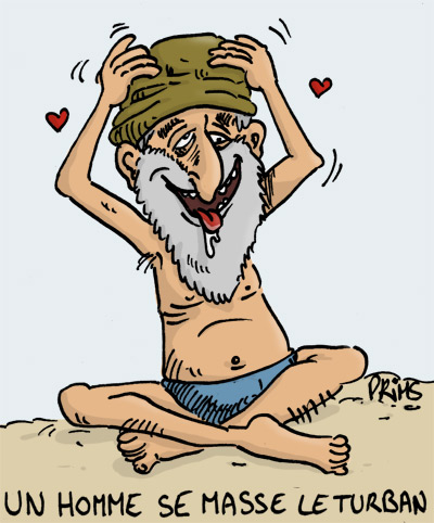 Dessin : Masse turban