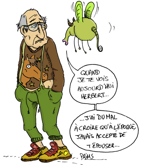 Dessin : Questions de couple